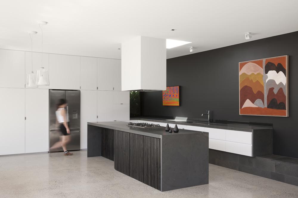 Toorak House. Kitchen