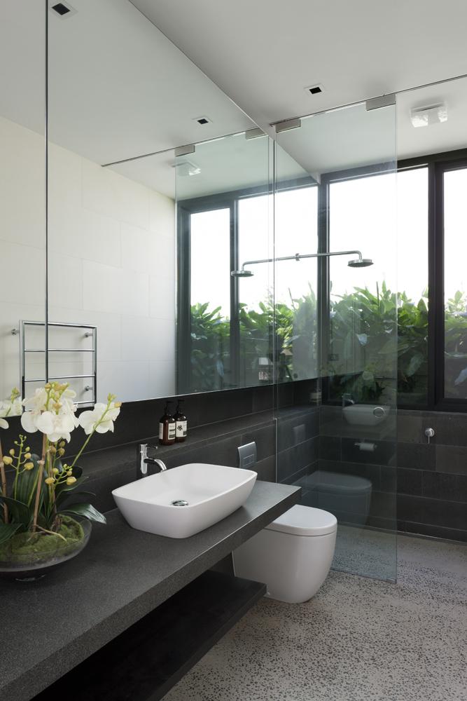 Toorak House. Bathroom