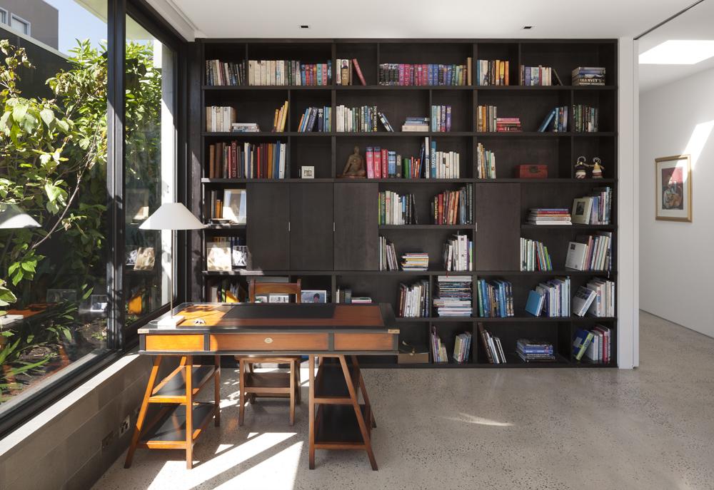 Toorak House. Library