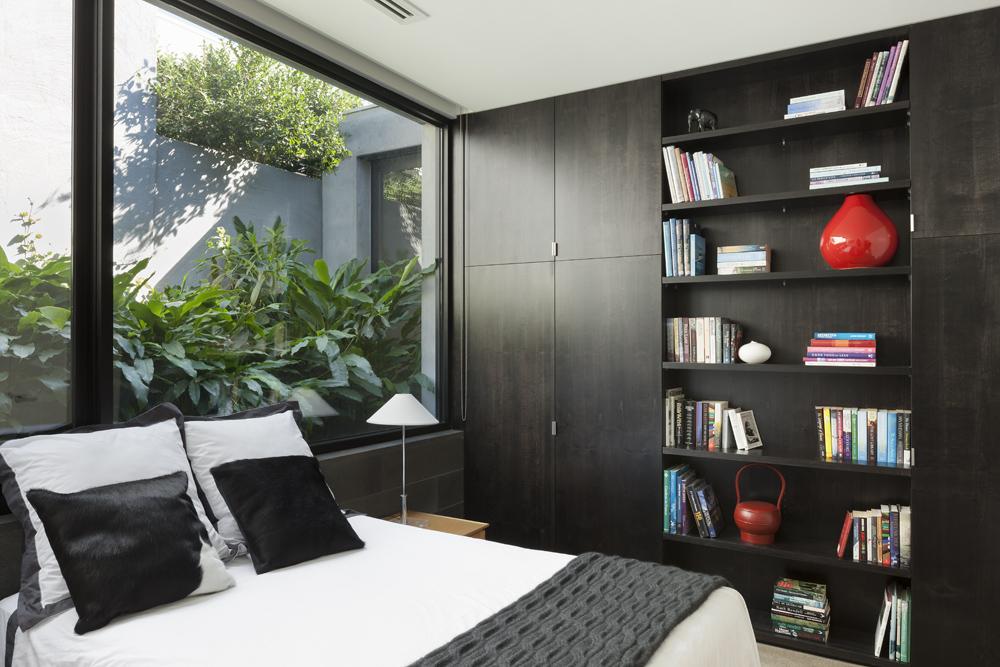Toorak House. Bedroom
