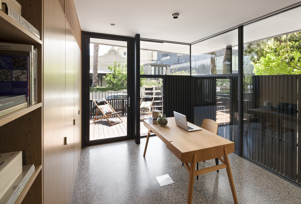 South Yarra Apartments. Study