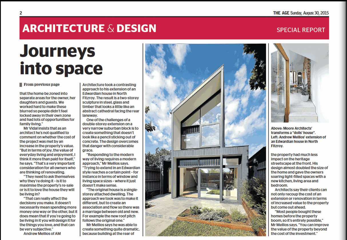 AM Architecture North Fitzroy House