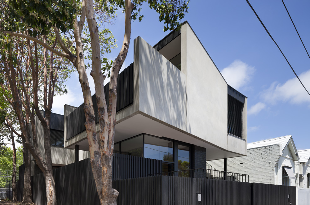 South Yarra Apartments. Exterior