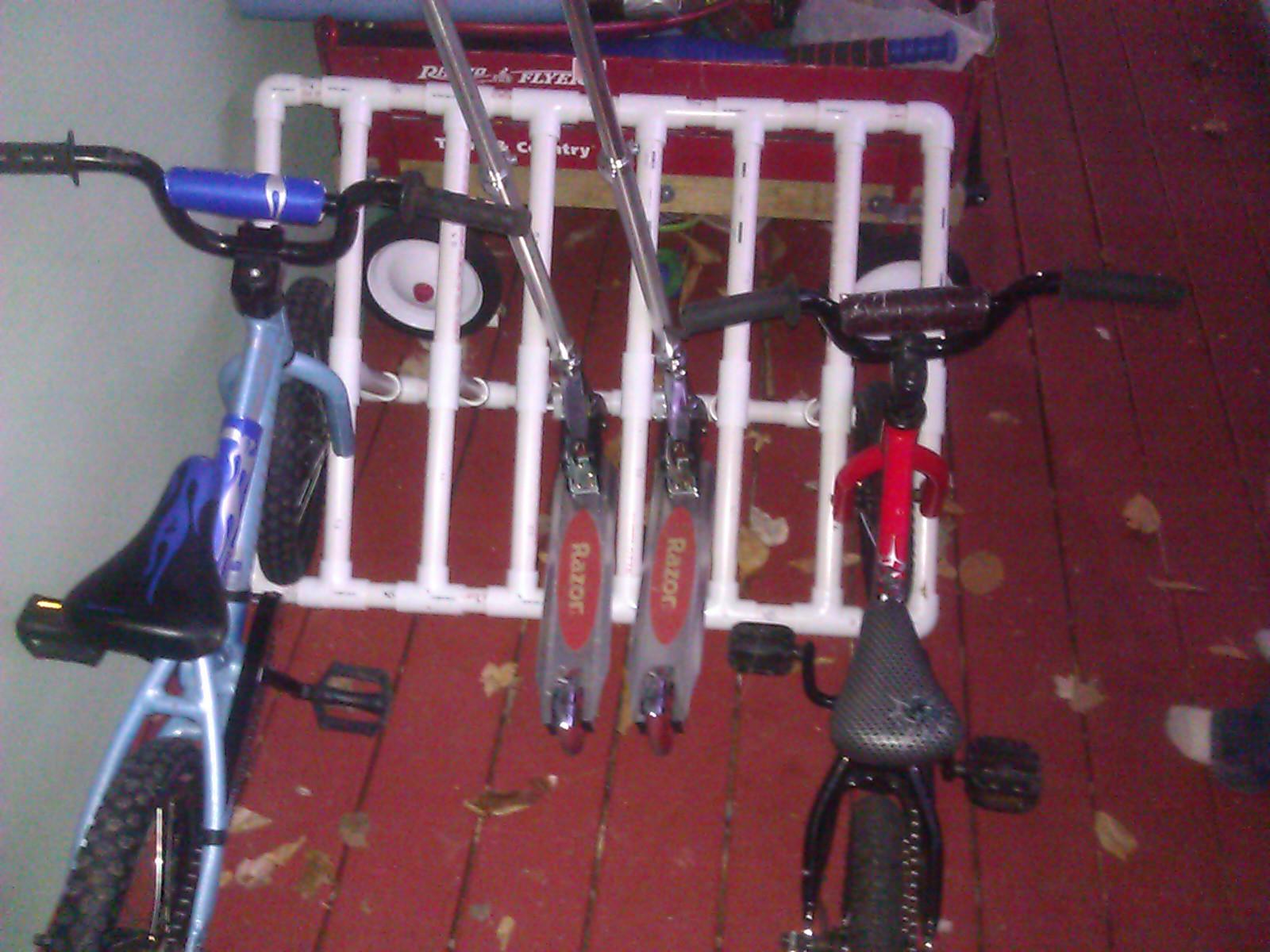 Bike rack!