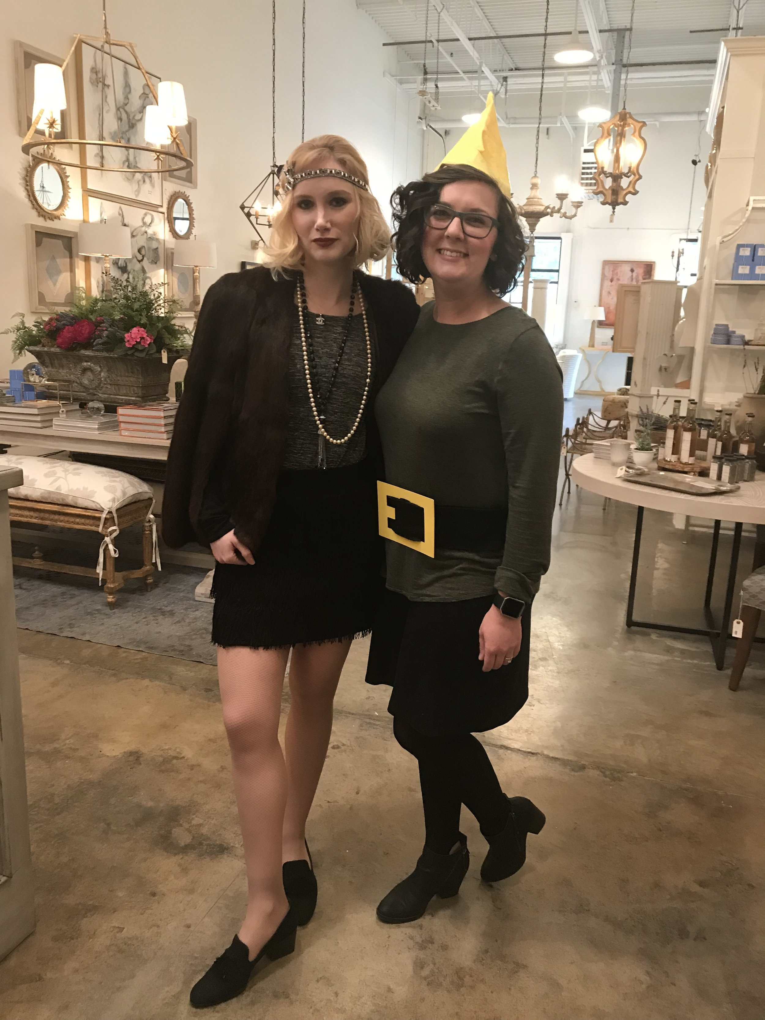 Christin and Melissa