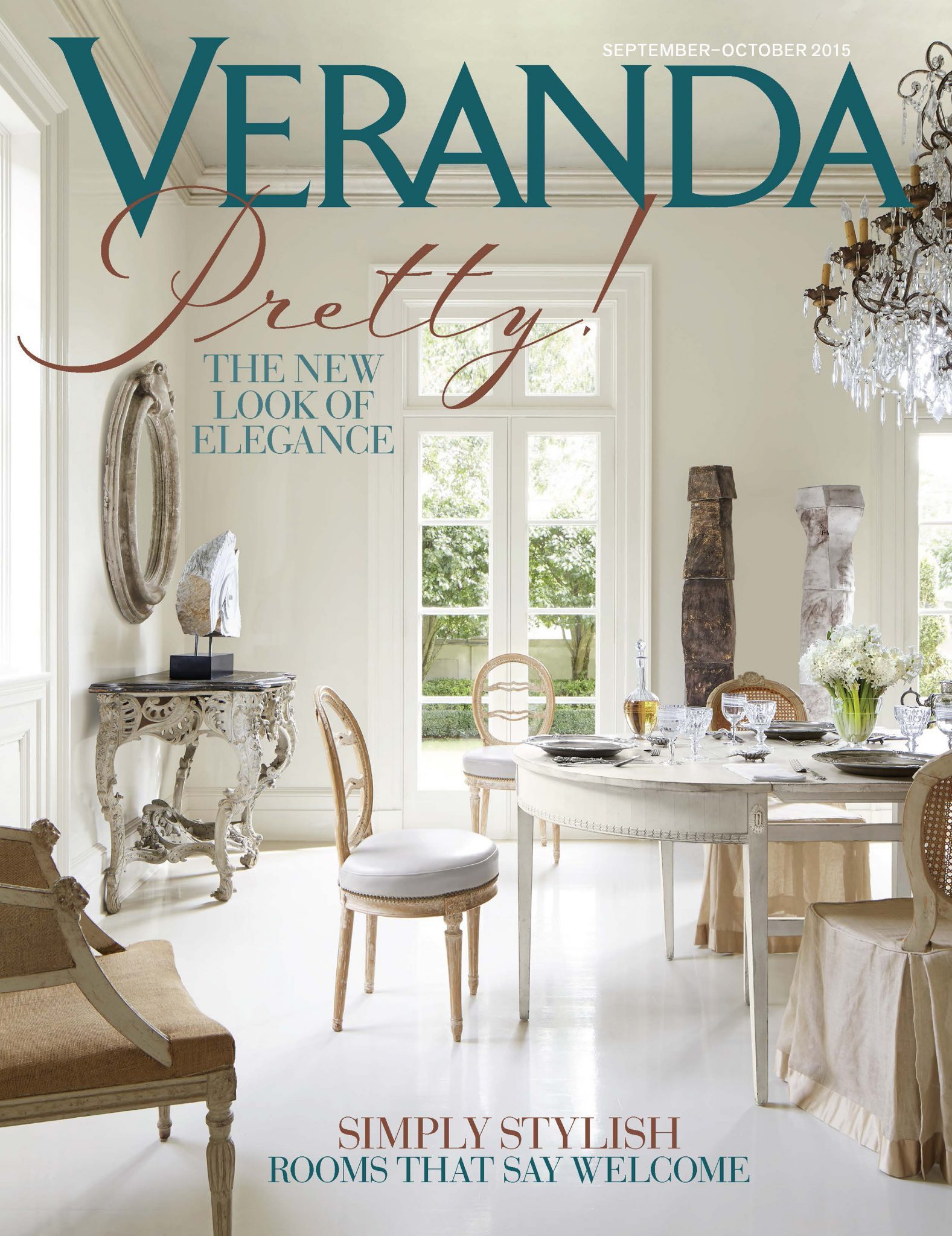 Tara Shaw on the cover of Veranda