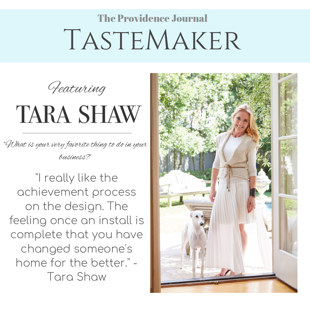 Tastemaker Featuring Tara Shaw
