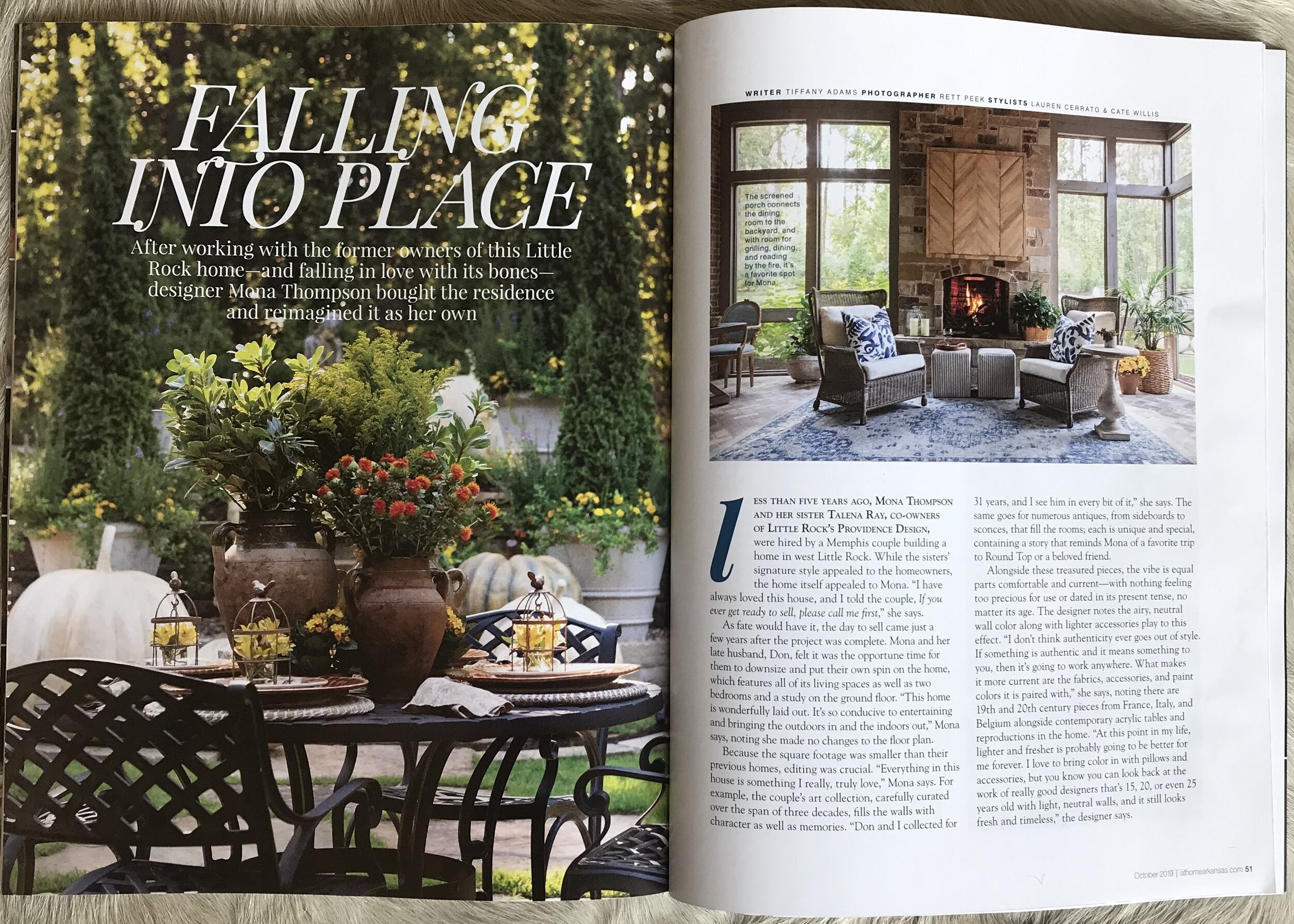 At Home in Arkansas feature - Providence Design Interior