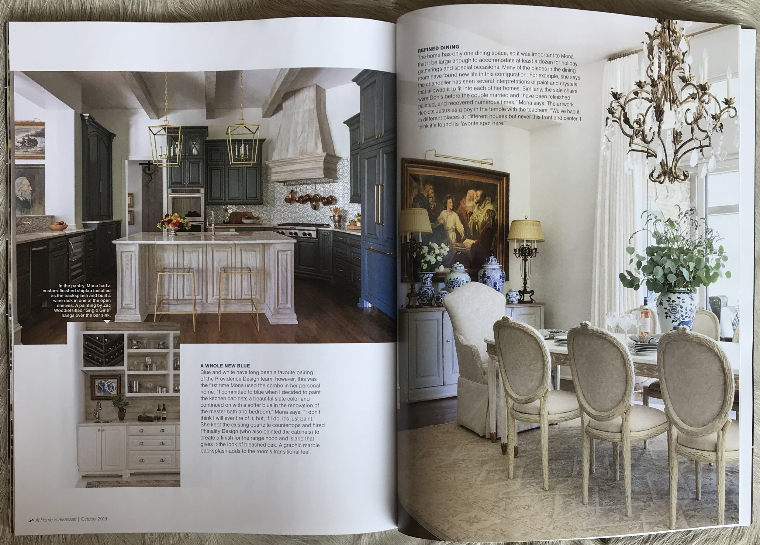 At Home in Arkansas - Providence Design Feature