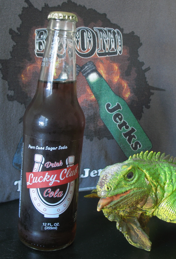 I wouldn't know your soda from a Jersey Iguana