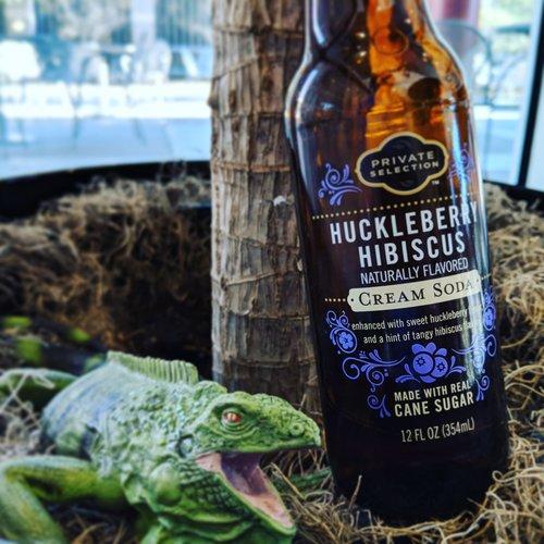 Private Selection - Huckleberry Hibiscus Cream Soda — TheSodaJerks net