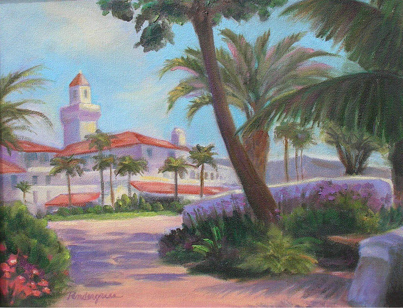 """""""View from East Beach""""  Oil    11"""" x 14""""    SOLD"""