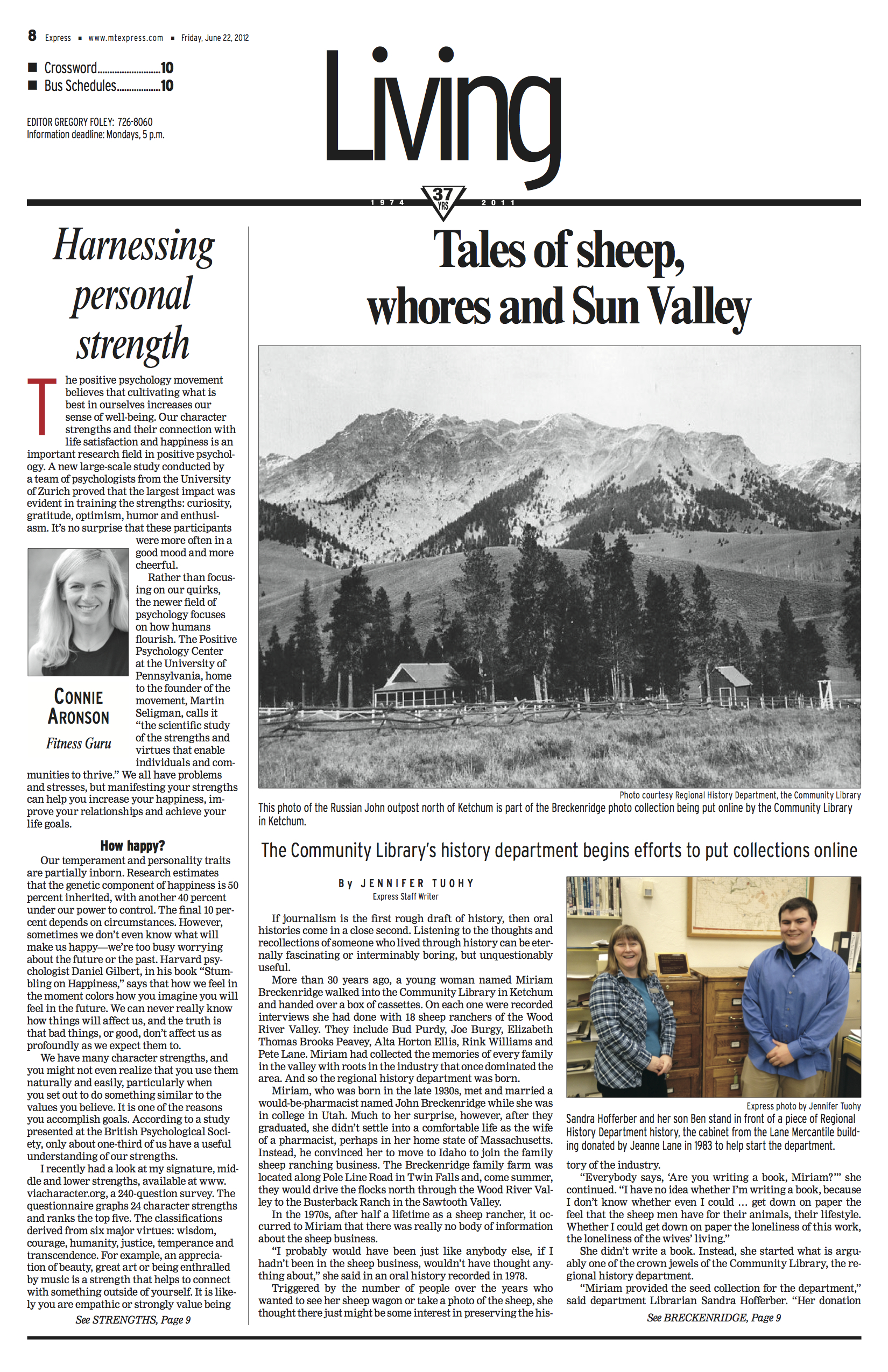 Tales of Sheep, Whores and Sun Valley