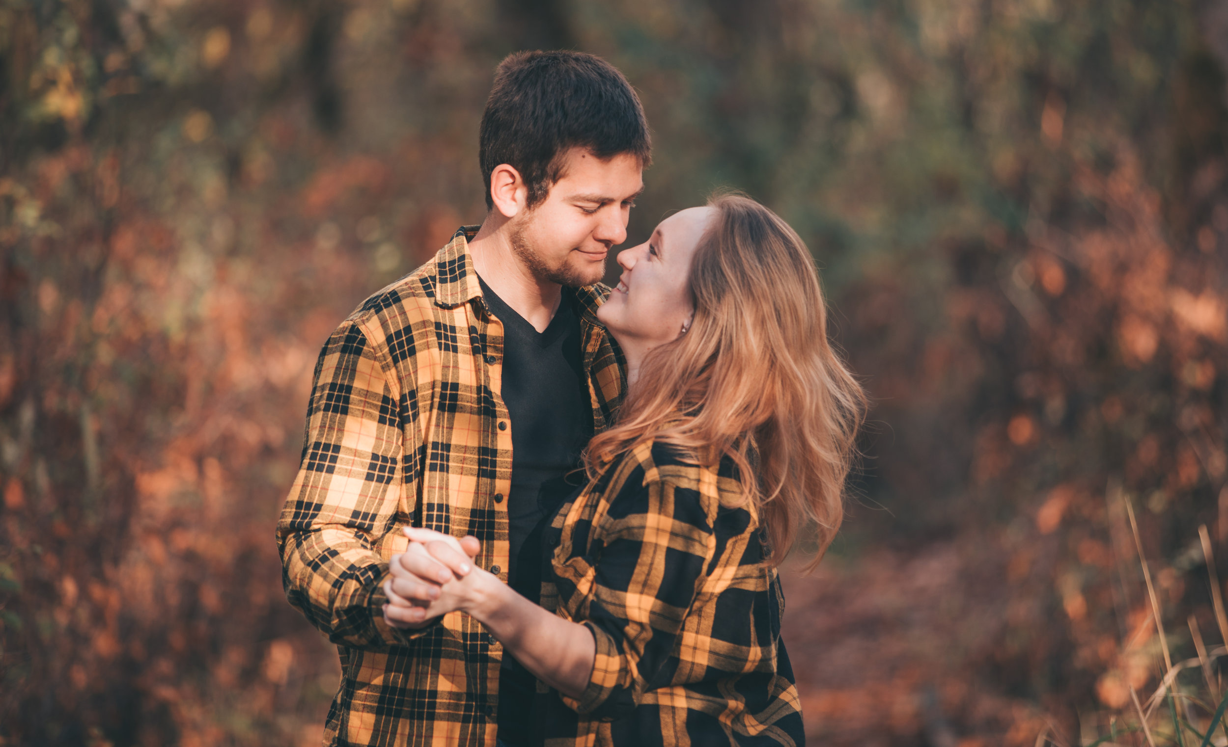 A Fall Engagement -
