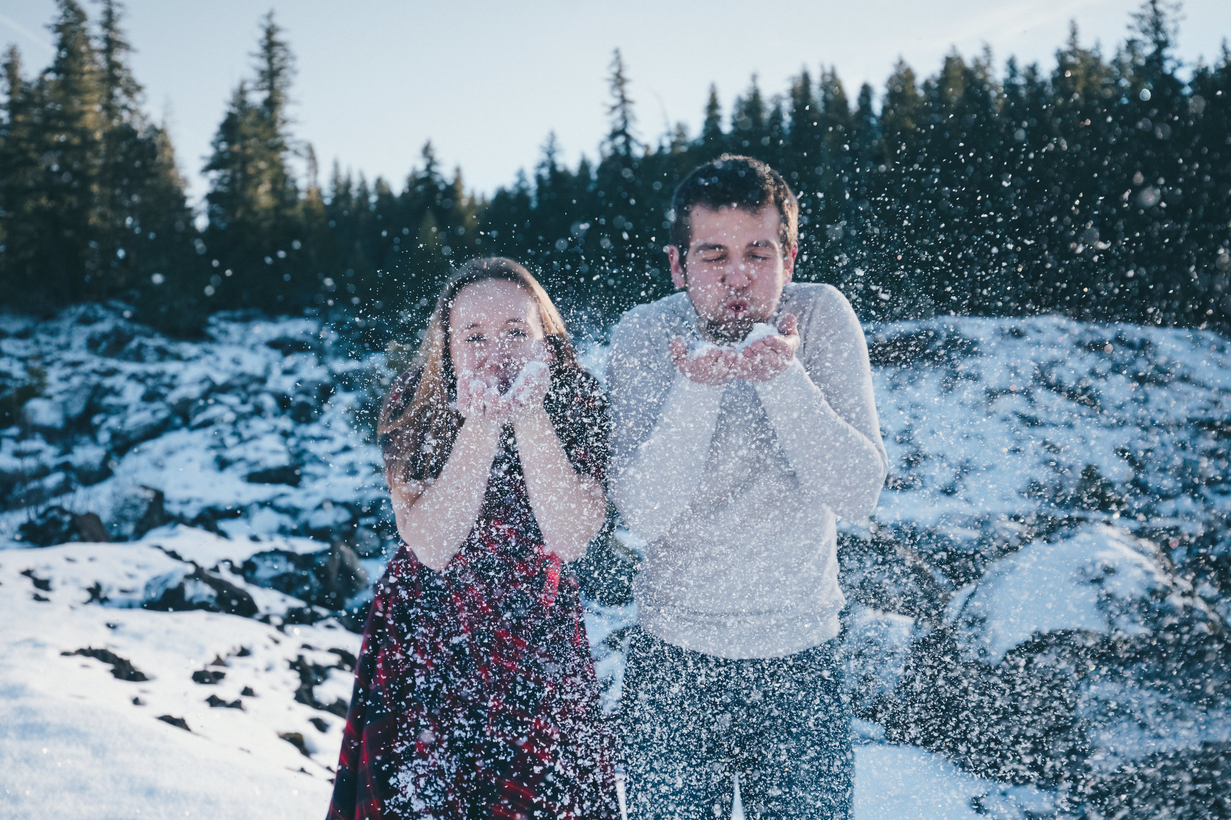 A Winter Engagement -