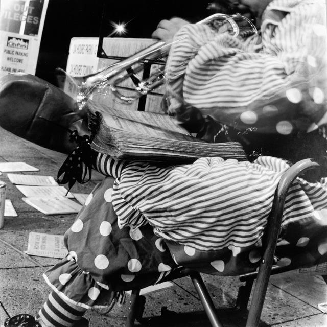 Clown Playing Trumpet, 2008