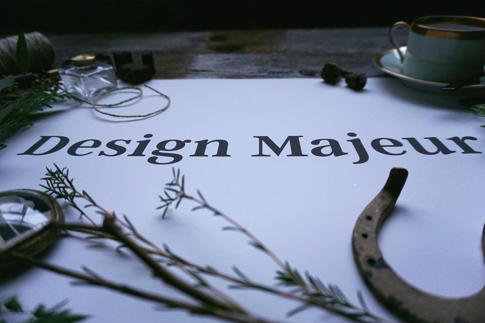 Design Majeur