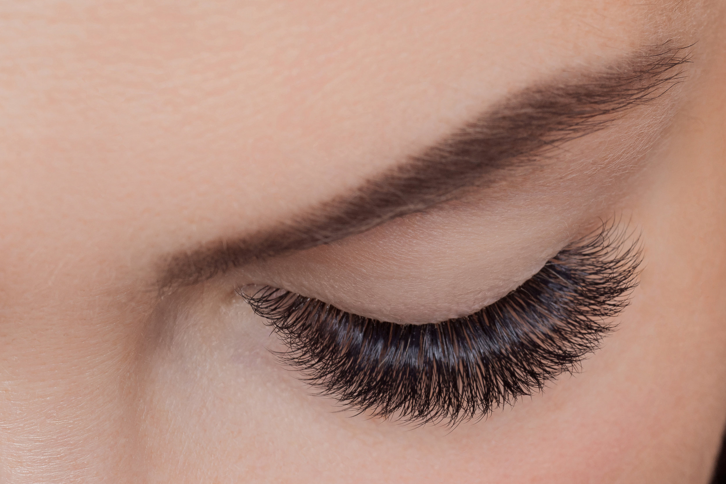 Volume lash extensions in Berkeley