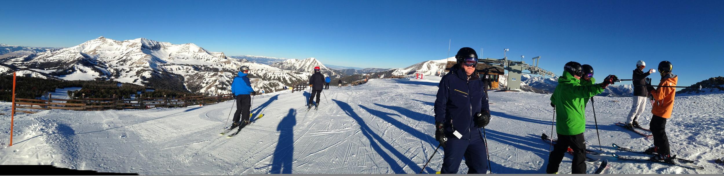 Ski Offsite: Nothing like sliding down a steep mountain to build camaraderie...