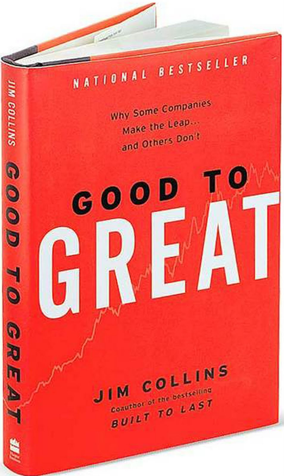 """""""Good To Great"""" by Jim Collins—The seminal book that drives much of the process for our vision workshops ."""