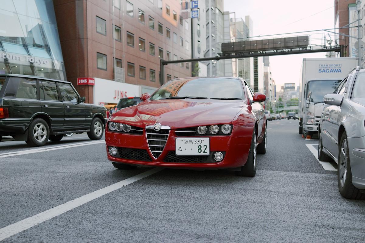 Alfa Romeos seem to be quite common.