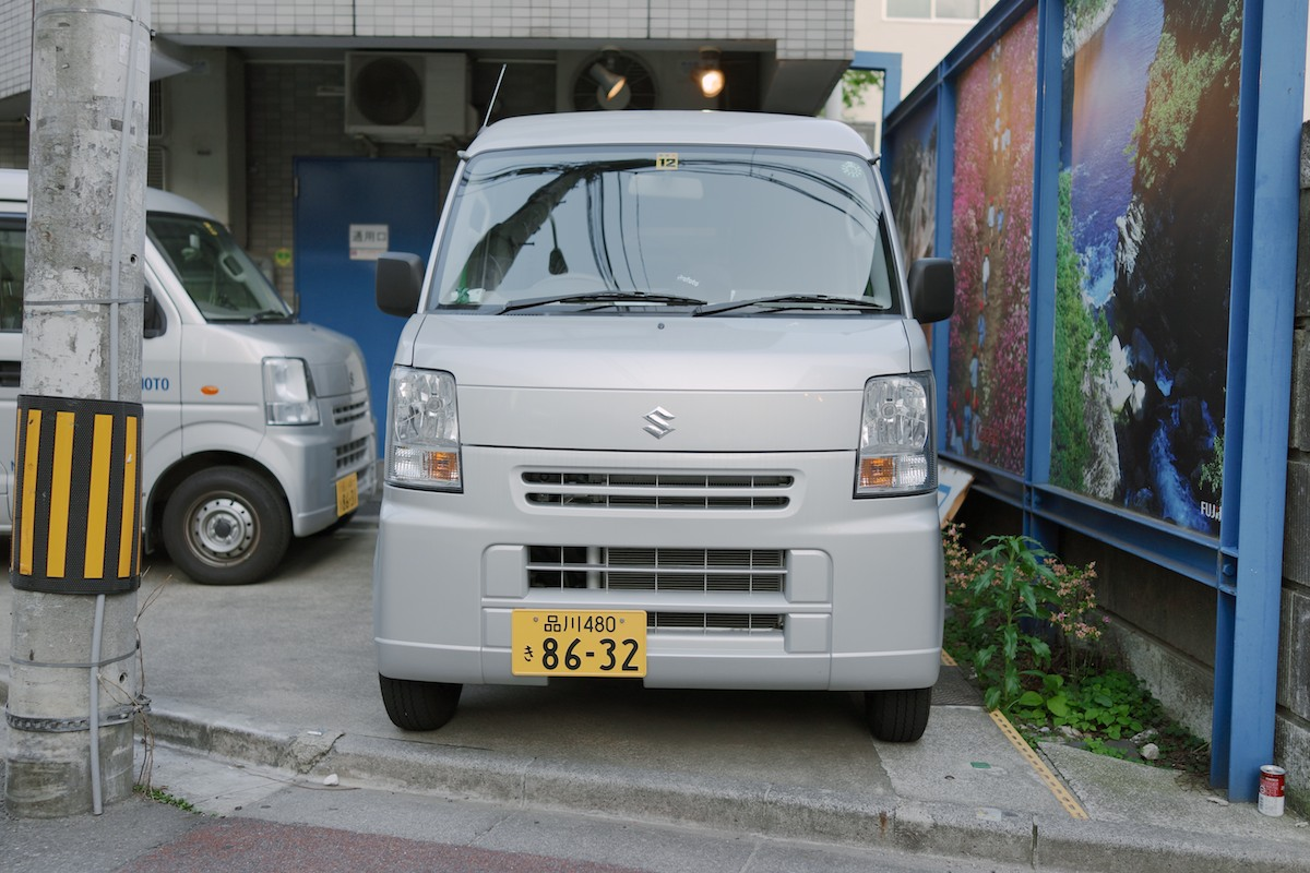 The Suzuki Every Wagon - one of, if not the best selling kei vehicles.