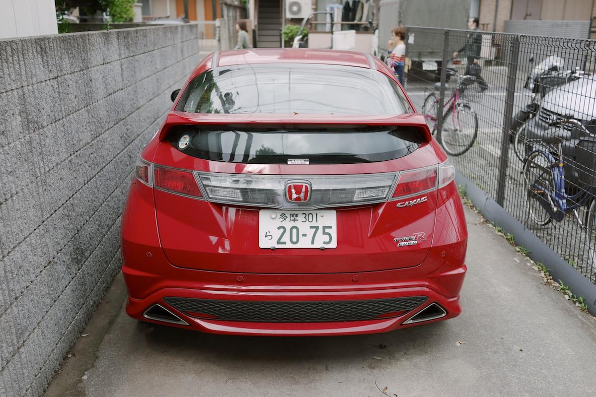 Euro spec Civic spotted inKichijōji.