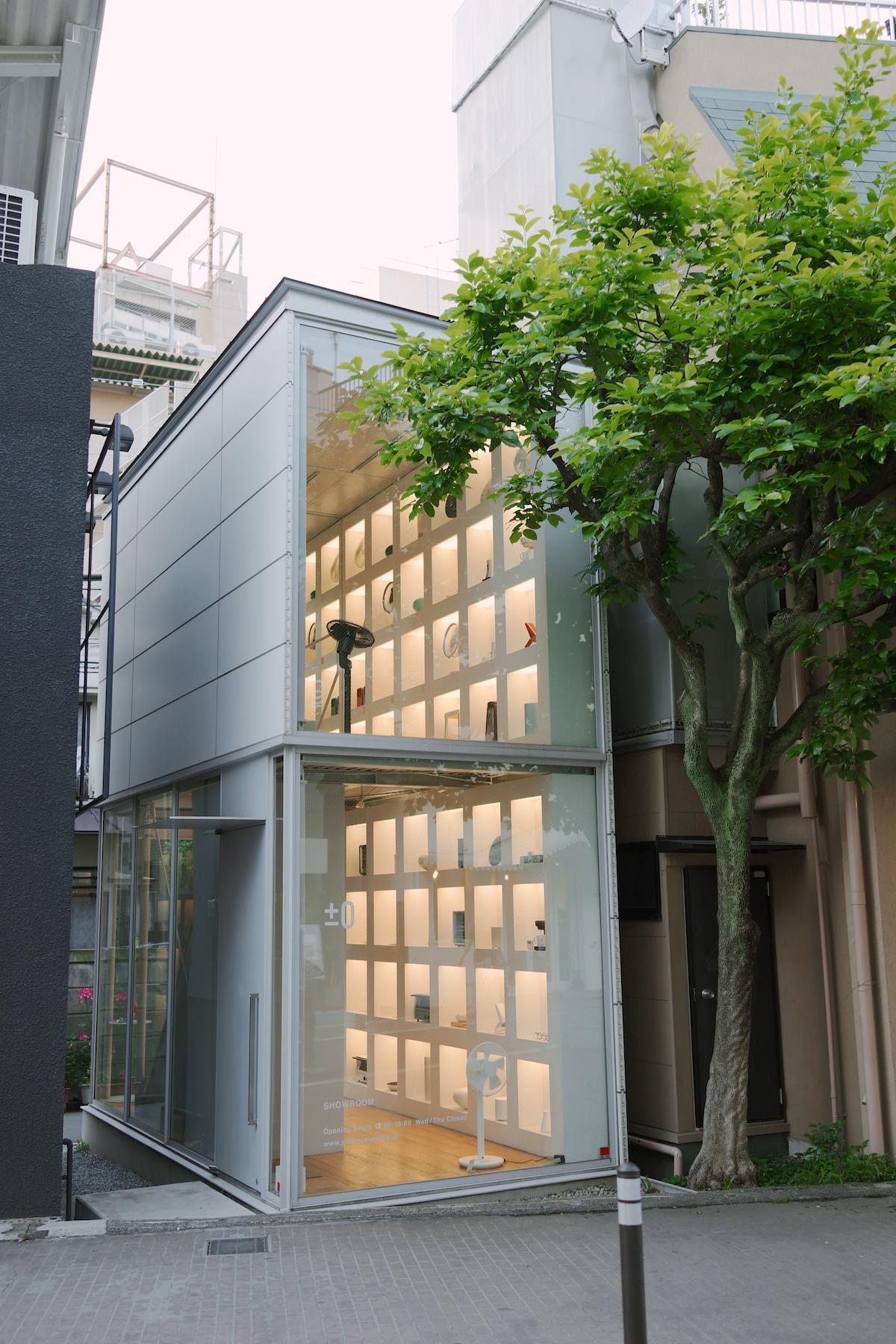 ±0 Showroom in Harajuku.