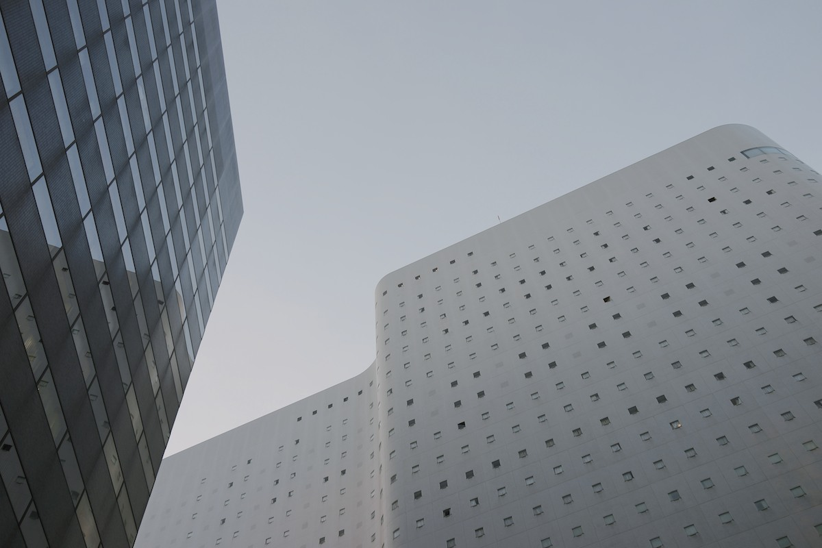 The Shinjuku Washington Hotel.