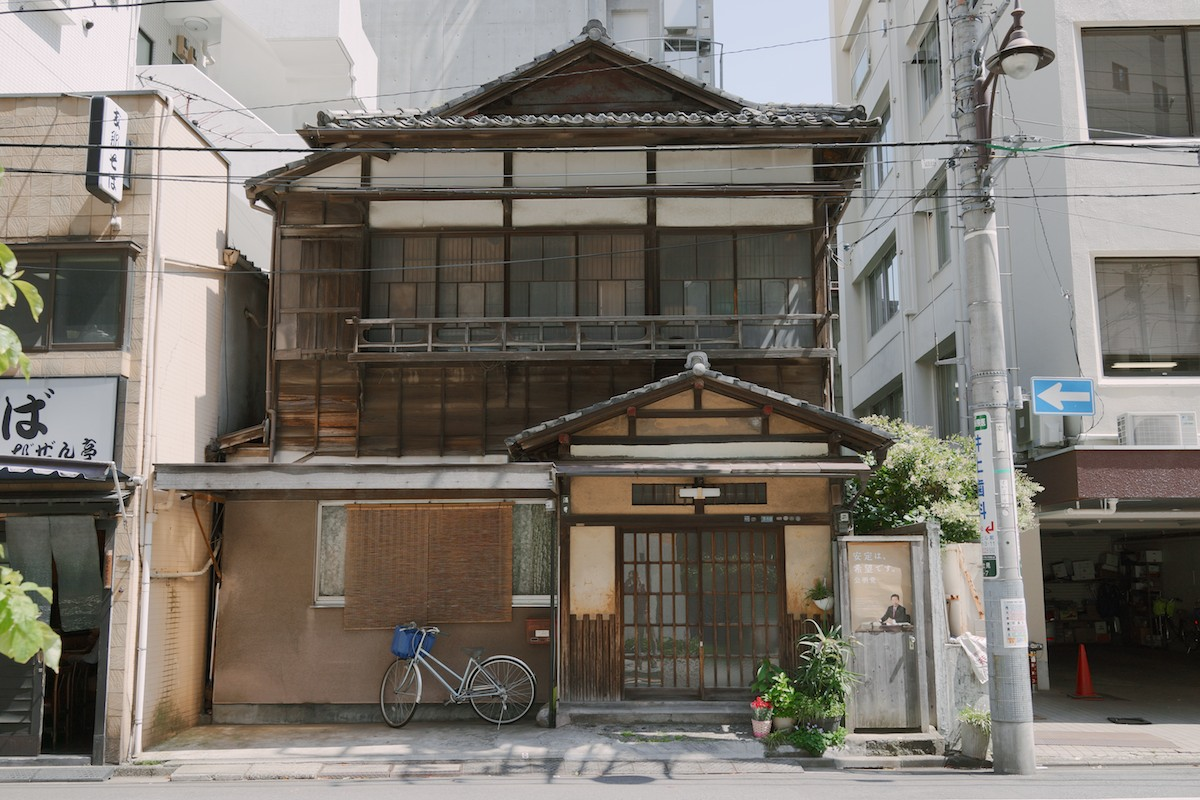 A vintage building in Chiyoda.