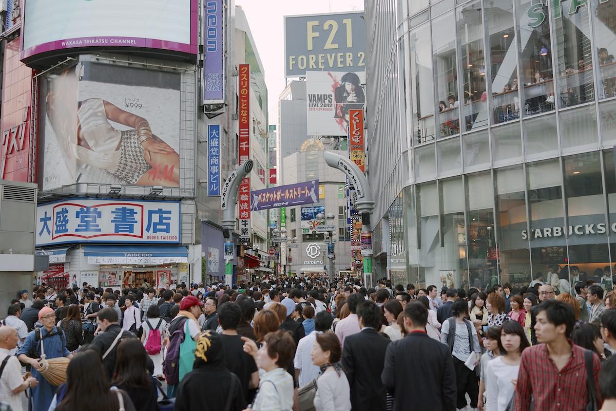 Insane crowds.