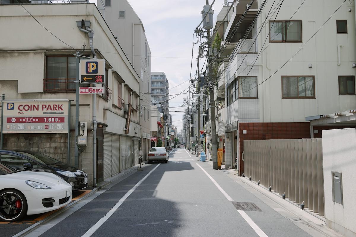 Residential streets near Nakamise.