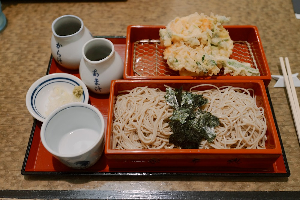 I've never liked soba but it turns out that I've never had  good soba . This was stunning.