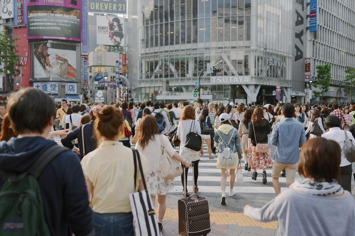 Tokyo, Japan - outdoor natural light
