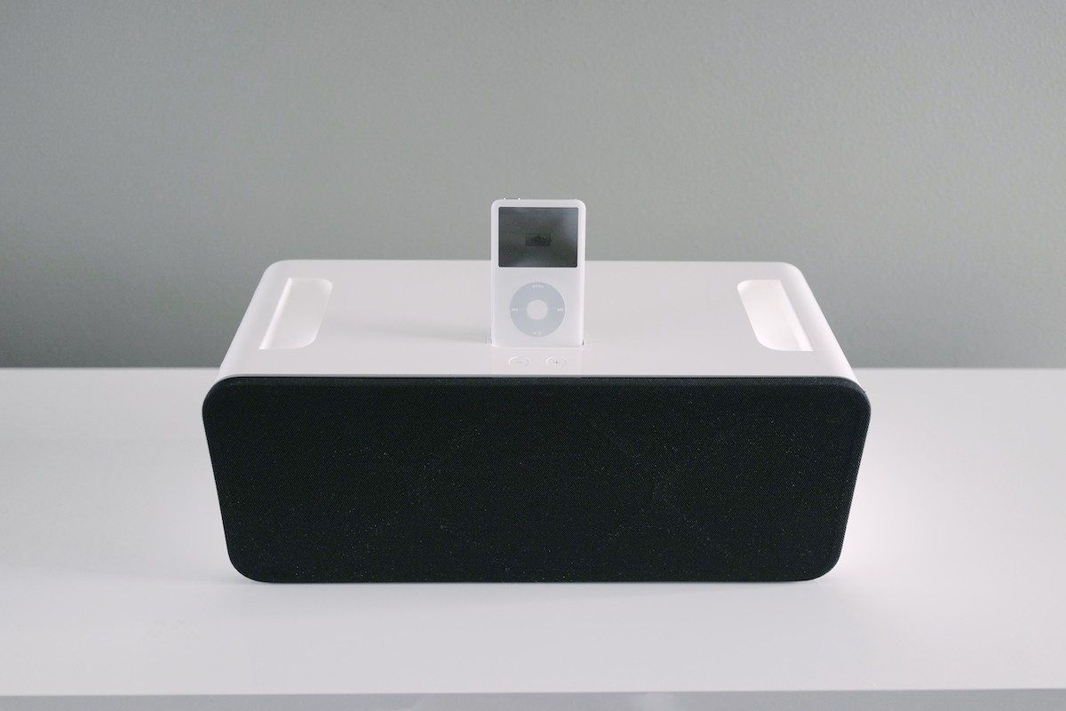 Apple iPod Hi-Fi — Minimally Minimal