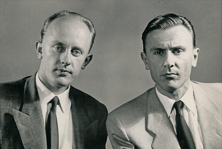 Artur and Erwin Braun | 1950 | © Braun