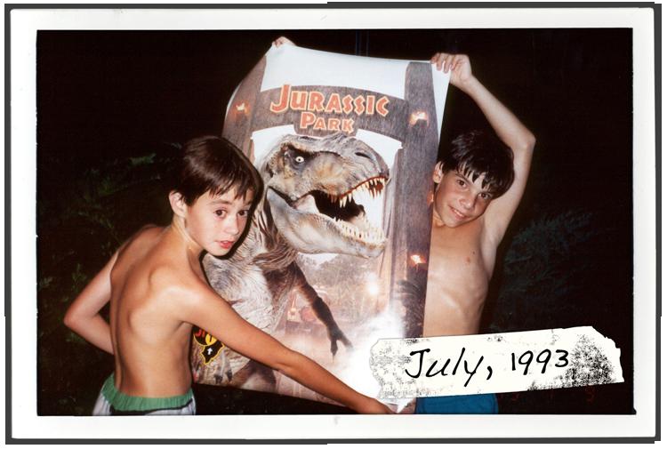 Michael Raisch and David Charkin, Summer 1993