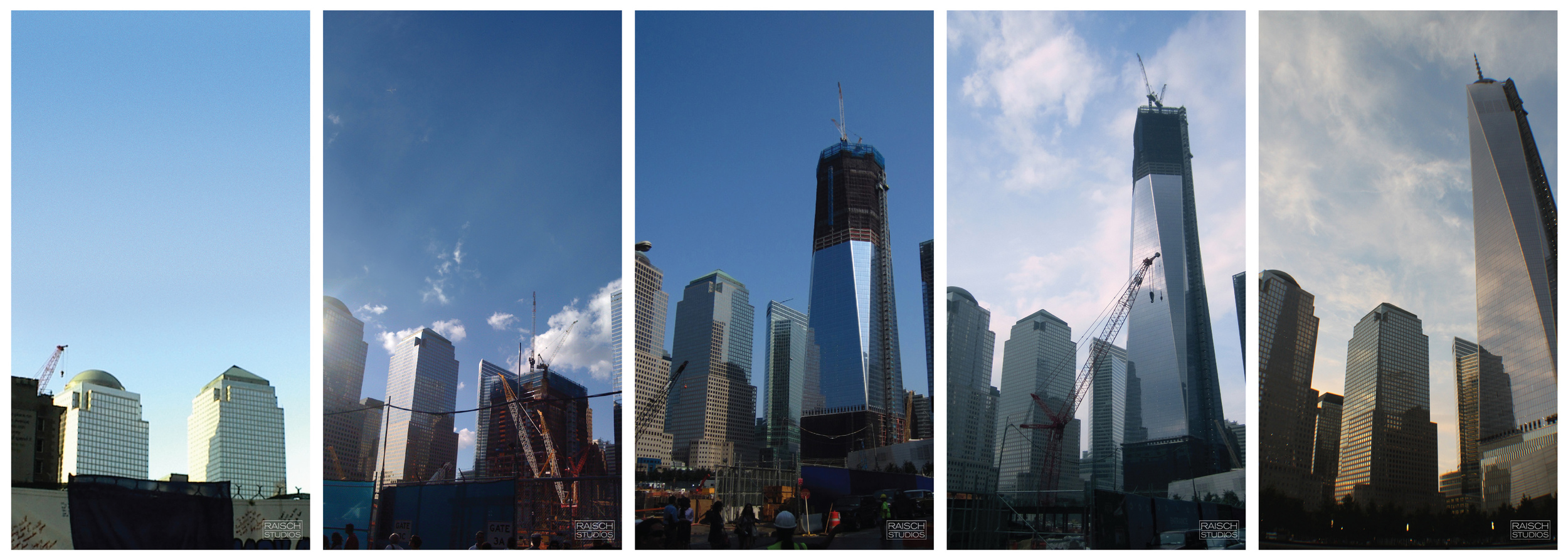 The Redevelopment of the World Trade Center Site - Photographed from 2002-2013 © Raisch Studios