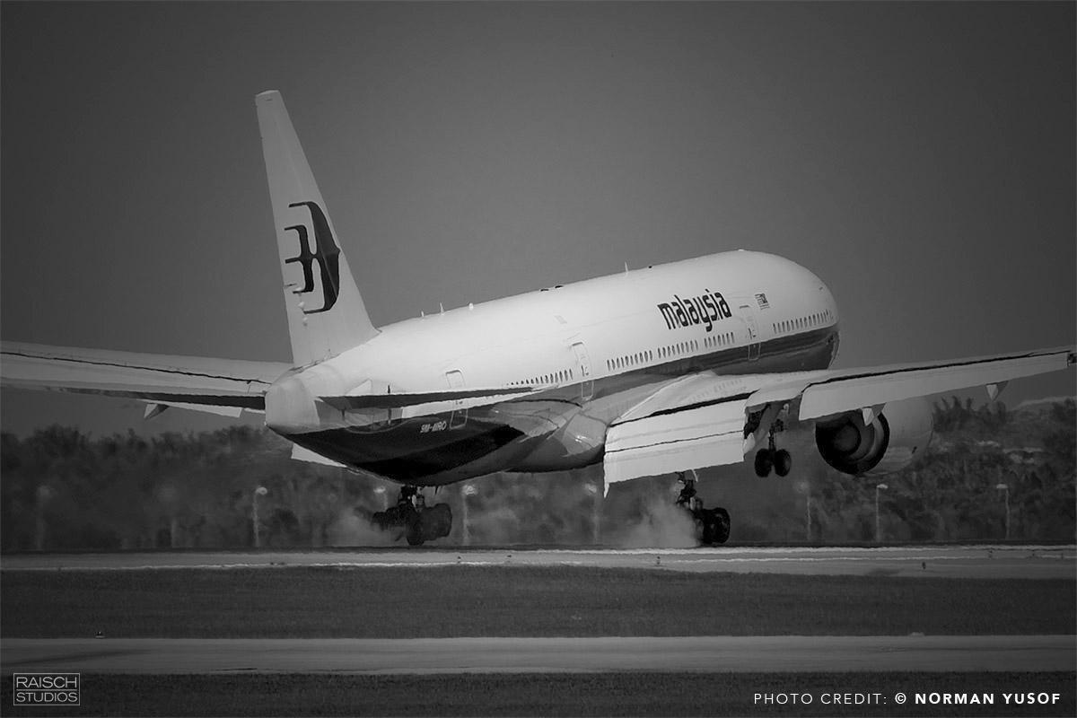 9M-MRO Photographed landing at Kuala Lumpur in January 31, 2014 © Norman Yusof
