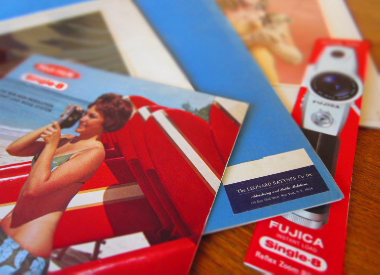 Fuji Single-8 Promotional Materials