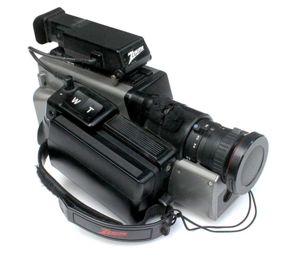 Zenith VHS Video Camcorder we filmed on.