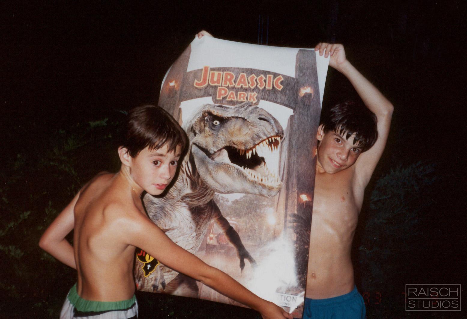ichael Raisch and David Chakrin, Summer 1993