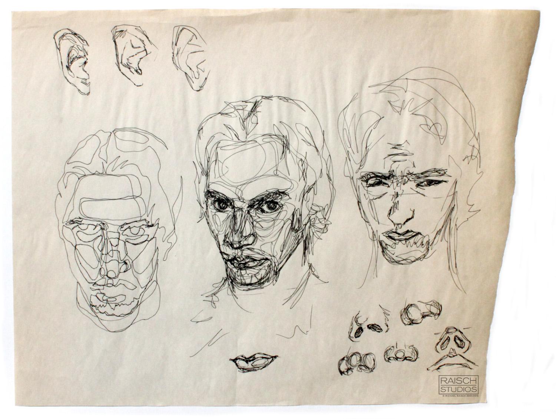 Artist Self-portrait, Undated September, 2001