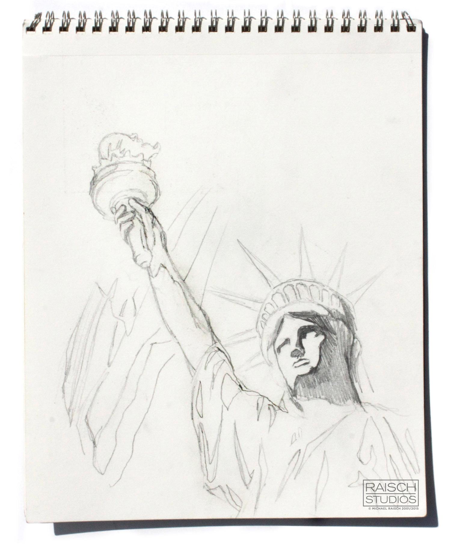Memorial Design Sketch