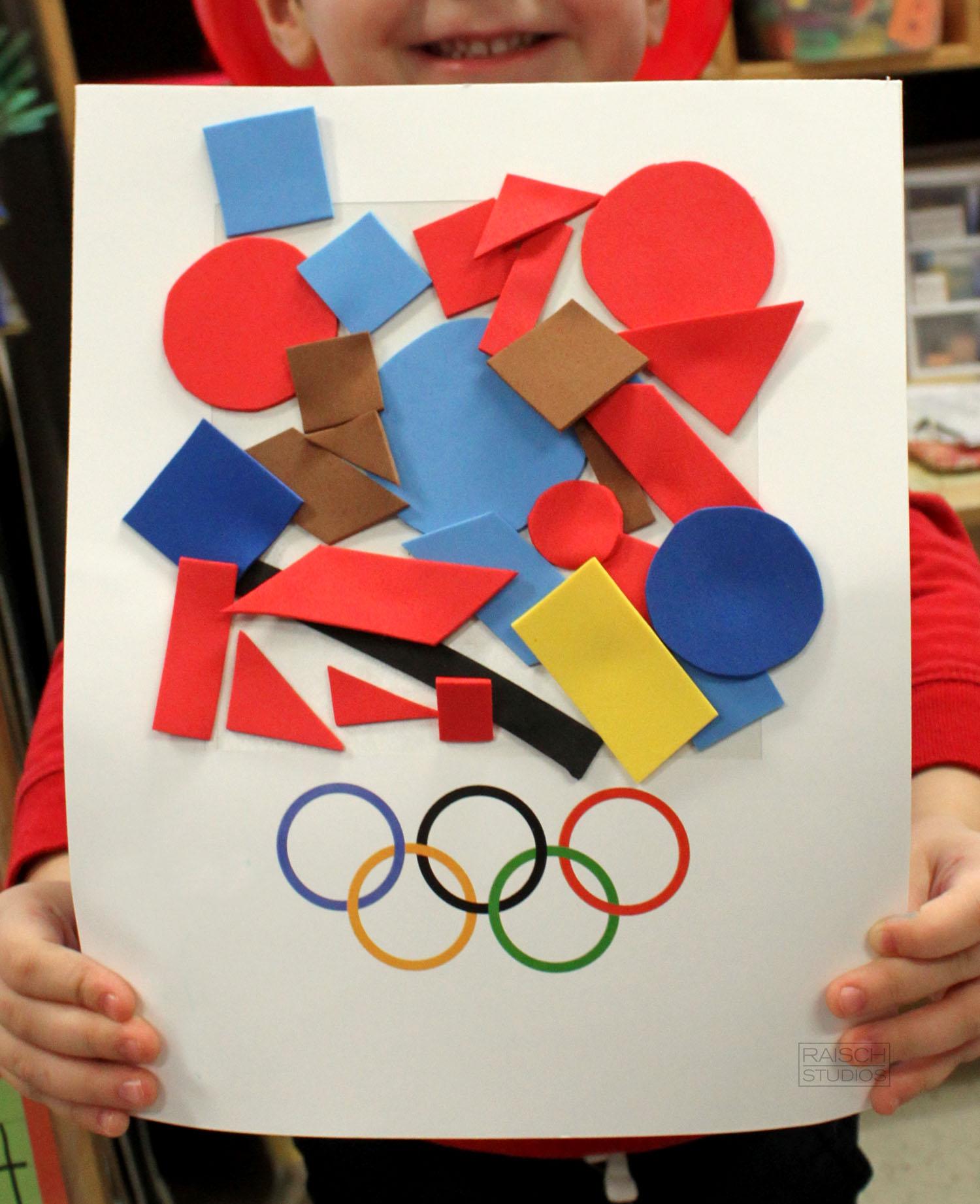 Taylor , Olympic Logo, Age 3