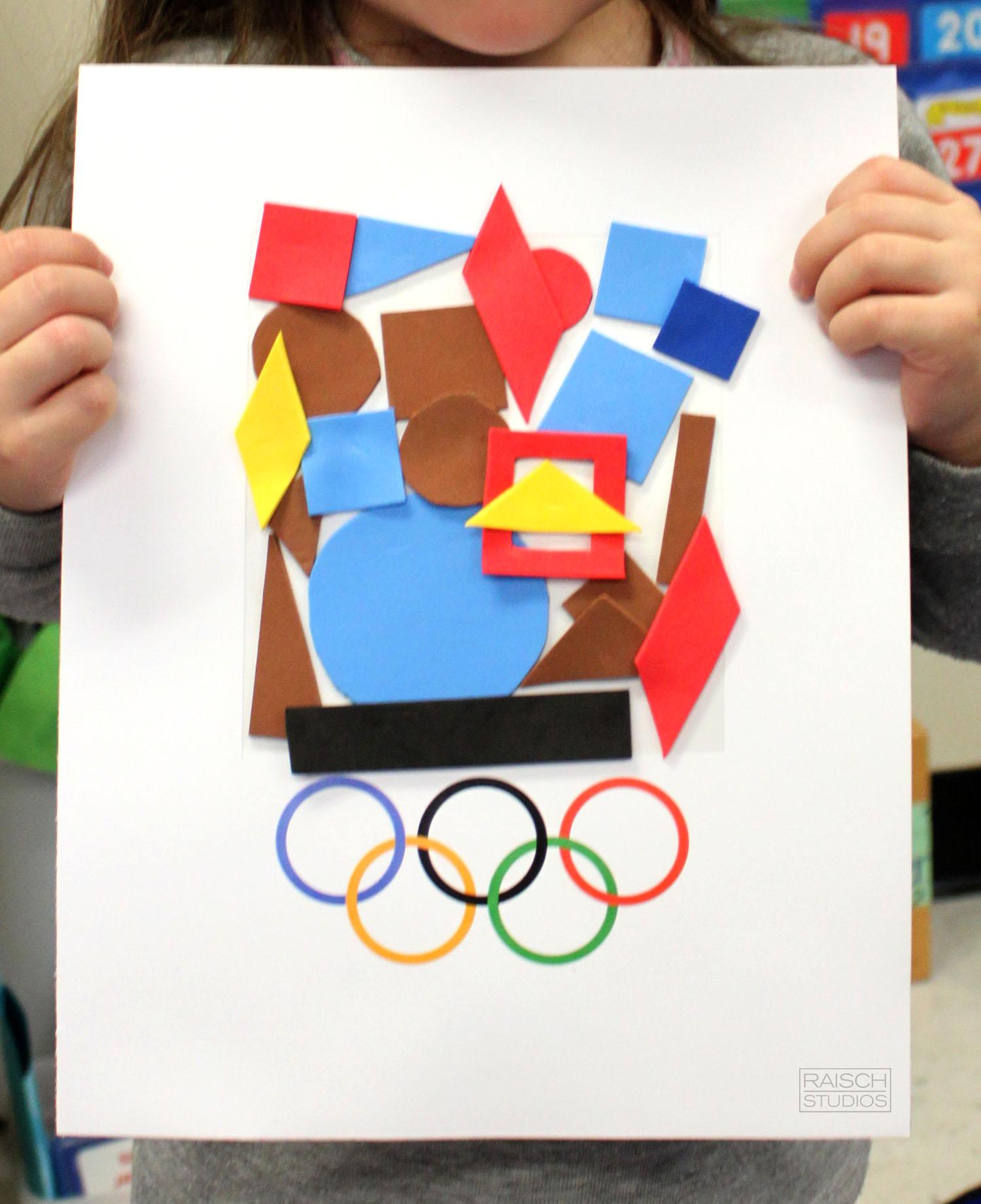 Charlotte , Olympic Logo, Age 3