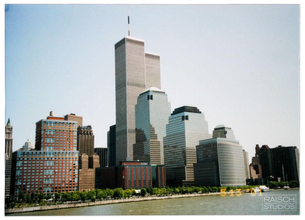 World Trade Center, May 13, 2001 – Photo: Eileen McNamara Raisch