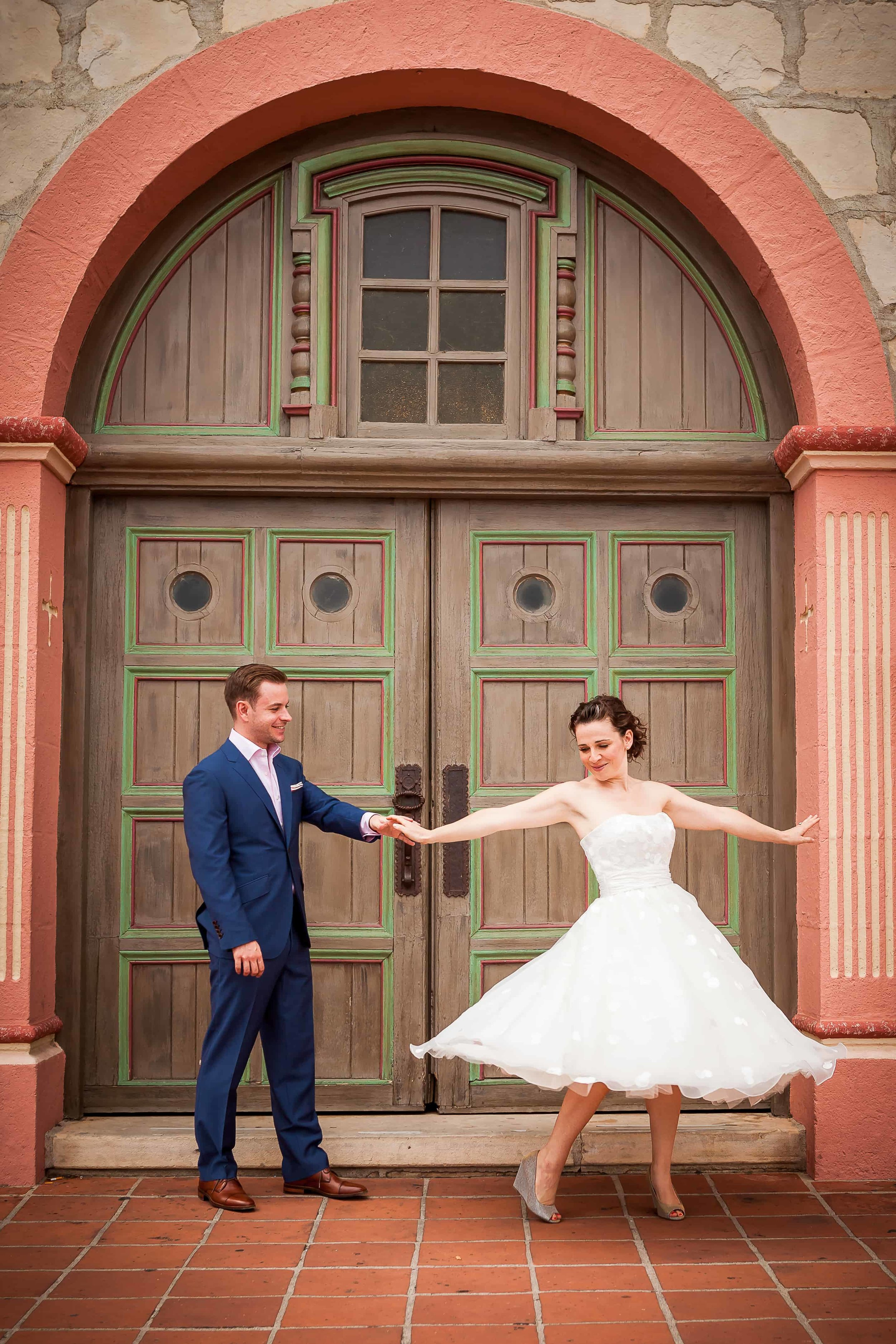 """""""[The photos] are wonderful. I usually really hate photos of myself, but these are great. [Libby is] a magician!"""" - —Maria, Bride"""
