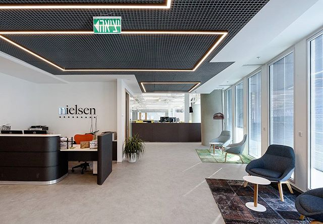 Nielsen offices TLV // Photo by Itai Aviran // Construction: A-Weiss