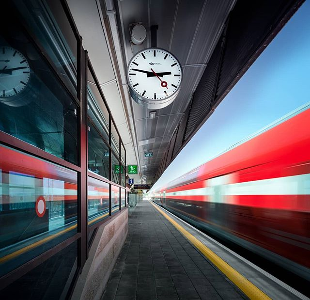 Time stands still at the new Mazkeret Batya train station. // Shot for Margolin Bros. // Architecture: Z.Mosessco // Photo by Itai Aviran